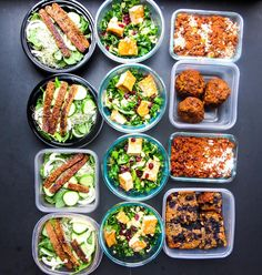 Sunday meal prep complete! For this week I've made tempeh bacon sandwiches salad with lemon tofu vegetarian chill and baked oatmeal! #mealprep #mealplan #mealprepsunday #vegetables #vegetarian #vegan #whatveganseat #wholefoods #realfood #paleo #glutenfree #iifym #iifymgirls #protein #gains #workout #eatclean #cleanfood #healthyfood #foodpic #foodgasm #diet #dietitian #nutrition #nourish #wellness #fitspo #fitfood #foodspiration #foodphoto by nicoleosinga_rd