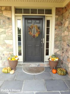 Fall Front Porch - Puddy's House