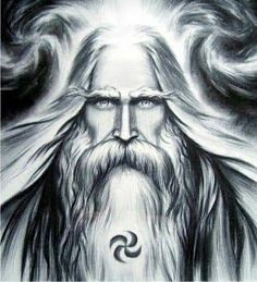 Druids Trees: A Druid of the grove. Pagan Symbols, Pagan Art, Viking Pictures, Aryan Race, Les Runes, Sacred Groves, Ancient Goddesses, Money Pictures, Viking Warrior