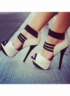 If your going to wear girly heels, these are IT. Love love love.