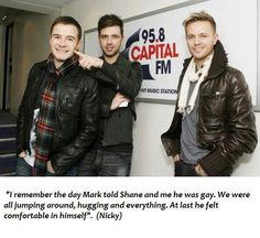 Mark Feehily, Nicky Byrne, Shane Filan, Capital Fm, My Darling, Song Lyrics, All About Time, Songs, Celebrities
