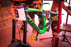 Connor Fearon's Kona Supreme Operator. - PIT BITS - Lenzerheide World Cup - Mountain Biking Pictures - Vital MTB