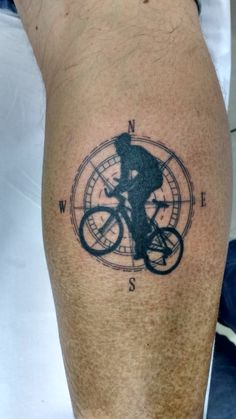 sport tattoo bike