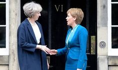 Theresa May told Scotland's first minister Nicola Sturgeon the four nations of the UK represent an 'unstoppable force'.