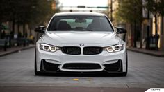 White Bmw F80 M3 Wallpapers