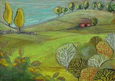 The red cottage © Audrey Dowling