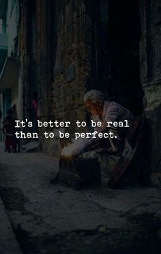 BEST LIFE QUOTES It's better to be real.. —via http://ift.tt/2eY7hg4
