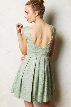 Paper Crown Parkside Pleated Dress