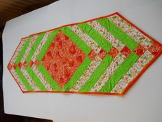 Summer Table runner . Patio Table runner .  Mug by ComfyCosyCrafts, $35.00