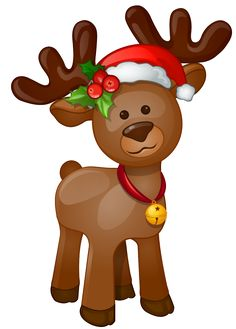 cute reindeer clip art clipart free clipart holiday christmas rh pinterest com cute baby reindeer clipart