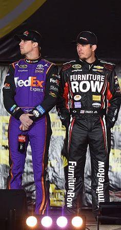 My favs♥ Denny Hamlin & Martin Truex Jr.