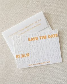 This save-the-date is simple-yet-eye-catching