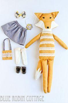 dress up the fox! Foxy laddddyyyy