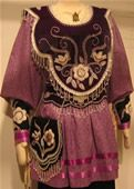 Iroquois Women Clothing | ... works from the collection of Iroquois beadwork artist Samuel Thomas