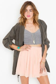 Kaley Skirt - Nasty Gal