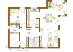 CLOU 156 Grundriss Erdgeschoss