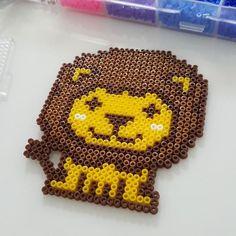 Lion perler beads by wangye0820