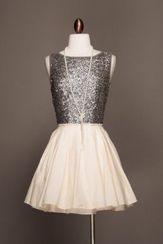 ADORE! Ugh, I need to get more dresses :)  Silver Sparkles