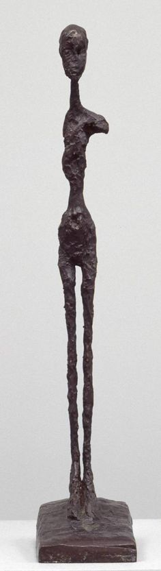 Alberto Giacometti, Standing Woman, c. 1958, cast 1964, Bronze, 651 x 121 x 200 mm, The Tate Modern Museum, London Alberto Giacometti Art paintings, sculptures, plastic arts, visual arts, art