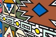 Image result for ndebele house painting the patterns