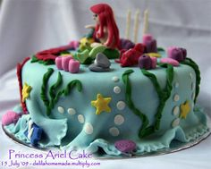 princess ariel cake | Flickr - Photo Sharing!
