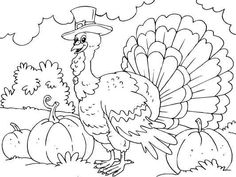 Free Printable Turkey Coloring Pages For Kids Free Thanksgiving Coloring Pages, Turkey Coloring Pages, Fall Coloring Pages, Free Coloring Sheets, Pattern Coloring Pages, Animal Coloring Pages, Printable Coloring Pages, Adult Coloring Pages, Coloring Pages For Kids