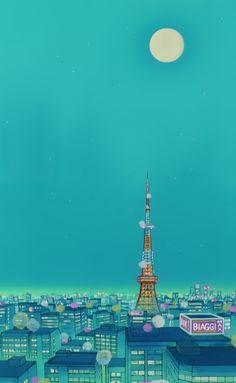 Sailor Moon scenery More
