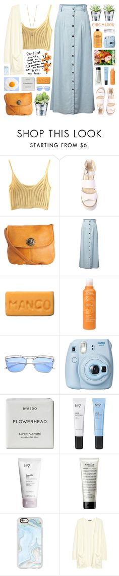 """""""CHIC LOOK CLOSET"""" by novalikarida ❤ liked on Polyvore featuring Windsor Smith, Pieces, CO, Aveda, Fujifilm, Byredo, Boots No7, philosophy, Casetify and H&M"""