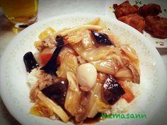 ま・ん・ぷ・くヽ(´o`; - 90件のもぐもぐ - 八宝菜残りで、中華丼 by kamasann