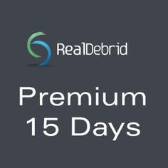 Real-Debrid Premium 15 Days http://247premiumcart.com/?product=real-debrid-premium-15-days