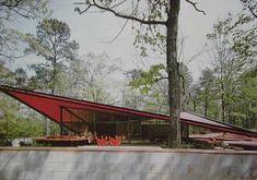 Eduardo Catalano House, Raleigh, NC, Eduardo Catalano, 1954 - Demolished: 2001