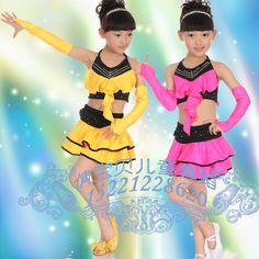 Child dance dress clothes tulle dress costume big boy performance wear rose female child suspender skirt tulle dress l13 US $14.35