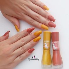 Simple nails design can be beautiful and fashionable. In the pictures below, we collected simple manicure designs. Cute Acrylic Nails, Cute Nails, Pretty Nails, Simple Nail Designs, Nail Art Designs, Hair And Nails, My Nails, Uñas Fashion, Manicure Y Pedicure