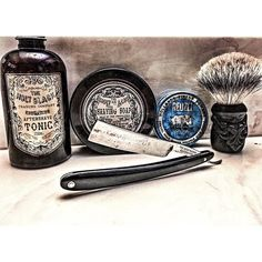 Video is posted of this shave!! Link in Bio!! I even play the intro tune on the fiddle. I'm a little out of practice. Ha  Great shave using @theholyblack and an @fretzwerks razor.  The @reuzel works great!! #wetshave #wetshaveloyalists #srs #straightrazor #shave #love #shaving #ff #followme #guys #men #style #instapic #instagood #instadaily #instaphoto #photo #picoftheday #photooftheday #sotd #shaveoftheday #shavelikeyourgrandpa #dfs #bbs #youtube #liamcruz by cap7597