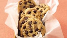 Bake up extraordinary chocolate chip cookies in no time. They're a cookie-jar favorite!