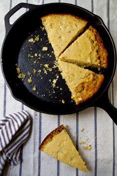 Browned Butter Cornbread Recipe from A Communal Table #weeknight #cornbread