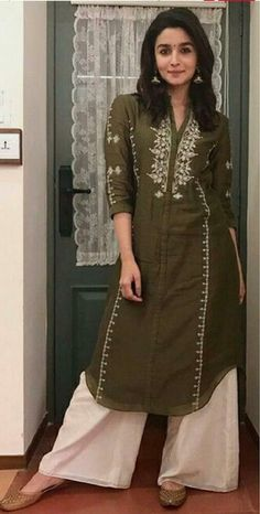 Indian pakistani kurta dress With dupatta pant Flared Top Tunic Set in Clothes, Shoes & Accessories, Women's Clothing, Dresses Pakistani Dress Design, Pakistani Dresses, Indian Dresses, Indian Outfits, Pakistani Kurta Designs, Bollywood Dress, Indian Bollywood, Simple Kurti Designs, Kurta Designs Women
