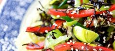 Arame with Sweet Vegetables | Andrea Beaman • Thyroid Expert • Holistic Health & Organic Diet Expert