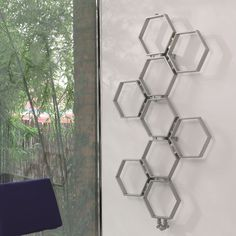 The Aeon Honeycomb is a piece of art which will have all people talking. This hexagonal design evokes a cheerful, fun-loving mood bringing the world of nature indoors. Available in a brushed or polished stainless steel finish. Prices start from Radiators Uk, Flat Panel Radiators, Bathroom Radiators, Stainless Steel Radiators, Stainless Steel Pipe, Towel Radiator, Radiator Cover, Designer Radiator, Heated Towel Rail