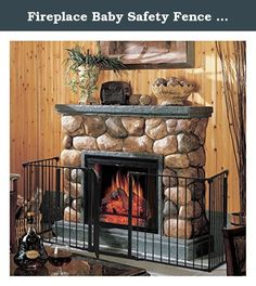 Fireplace Baby Safety Fence Hearth Gate BBQ Metal Fire Gate Pet Dog Cat. Product Description This Is Our Fireplace Fence Baby Safety Fence,Which Will Provides A Very Safe Environment For Your Child,Dog And Cat. It Will Prevent Them Into Places They Aren't Allowed Like A Fireplace Or Any Other Non Kids Friendly Area. What's More, It Is Easy To Set Up In Non-Frustration.