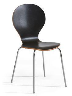 FUSION-tuoli, musta