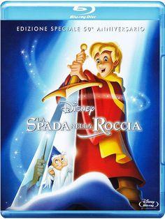 La Spada Nella Roccia Special Edition 50° Anniversario: Amazon.it: Bill Peet, T.H. White, Wolfgang Reitherman: Film e TV