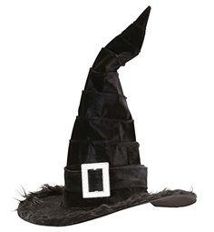 Einfache Hexenhüte gibt es viele zu kaufen. Doch zum Hingucker wird der Hexenhut erst, wenn er mit gruseligen Zutaten individuell verziert worden ist. Hier wird gezeigt, wie man einen Hexenhut selber basteln kann.