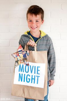 Movie Night Kit for Father's Day!