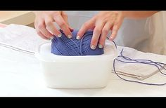 She Soaks An Entire Ball Of Yarn In Glue. What It Transforms Into Is Perfect
