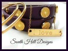 New south hill jewelry! Dress up any outfit with out stackable bracelets and layering necklaces! Love Necklace, Bar Necklace, Design Your Own Jewelry, Jewelry Design, Locket Design, South Hill Designs, Stackable Bracelets, Jewelry Companies, Gold Leather