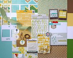 "Cocoa Daisy April kit ""forecast"""