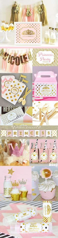 Princess Party Ideas for Girls by ModParty