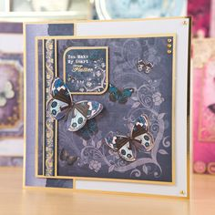 Hunkydory Flight of the Butterflies Jeweled Edition