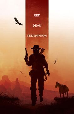 red dead redemption metal posters - Google Search                                                                                                                                                                                 More